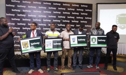 Three Ghana PL Clubs Get Betway Headline Sponsorships