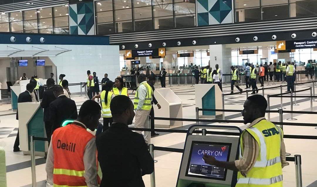 Ghana introduces its first-ever aerobridge at KIA Terminal 3