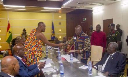 Oti Region creation: Buem chiefs laud Akufo-Addo