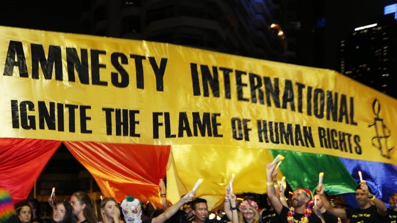 Indian officials raid Amnesty International's regional office