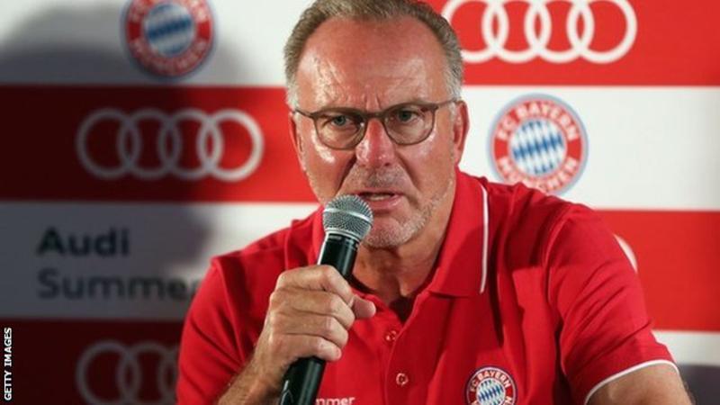 Bayern Munich: 'We will not accept this coverage' says Karl-Heinz Rummenigge