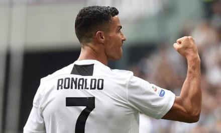 Cristiano Ronaldo beats Messi to Champions League record