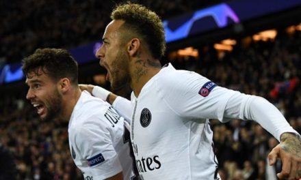 Neymar Scored to put PSG in control