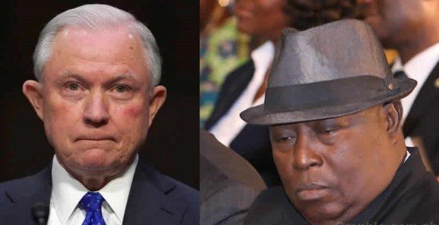 Jeff Sessions' resignation gets Amidu thinking