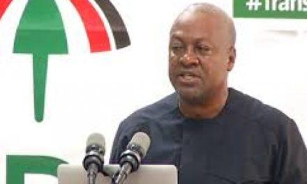 NDC Will Eliminate Free SHS 'Green-Gold Traffic Light' – Mahama