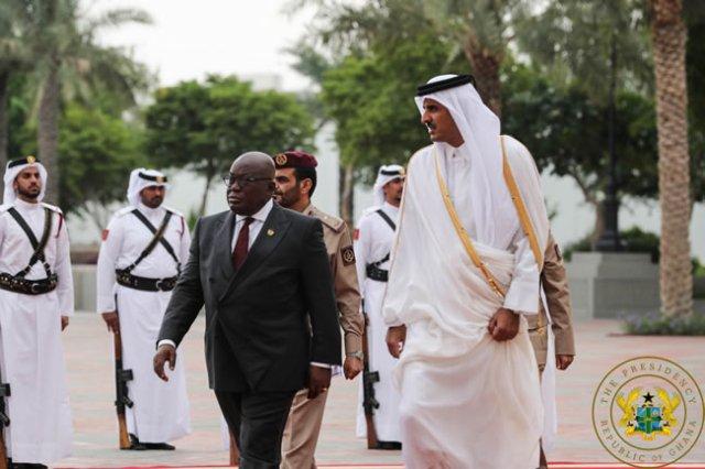 Emir of Qatar lauds Akufo-Addo for 'governing Ghana well'