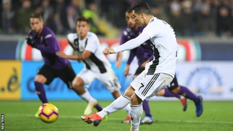 Juventus 3 – 0 win over Fiorentina