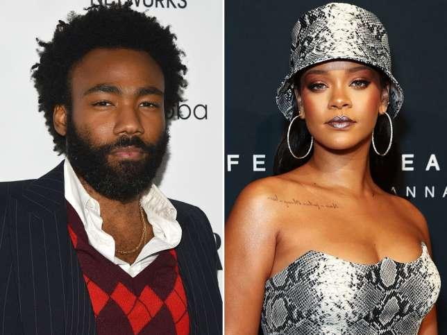 Musicians Rihanna and Childish Gambino to star in new movie