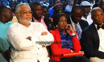 NDC flagbearer race: Rawlings enraged by high filing fee